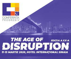Conferinta Progresiv - The age of Disruption