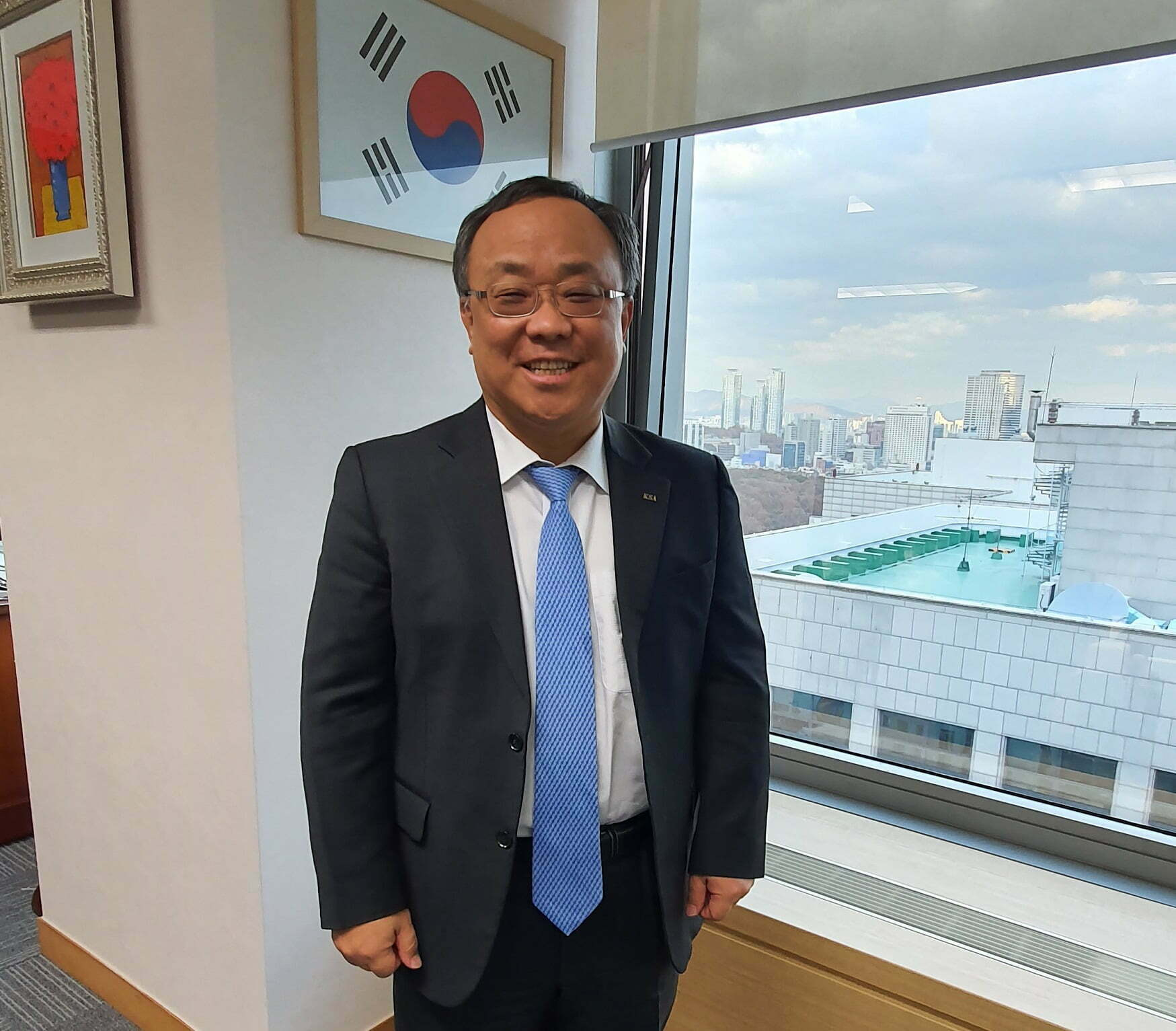 Sangjin Lee, Chairman & CEO al Koreea Standards Asociation